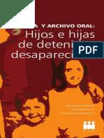 PIDEE. (2014). Memoria y Archivo Oral. Hijos e Hijas de Detenidos Desaparecidos
