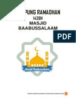 Proposal Kampung Ramadhan Edit Lembur