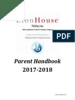 EHM Parent Handbook 2017-2018