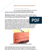 DEAD FREIGHT CLAIMS .docx