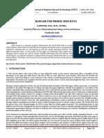 Web Crawler For Mining Web Data