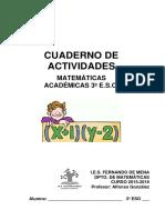 Cuaderno Actividades 3eso Academicas