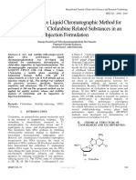 Ultra Performance Liquid Chromatographic Method for Quantification of Clofarabine Related Substances