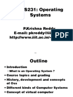 Course Overview and Background for Operating Systems