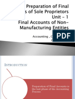 Final Accounts - Useful PPT