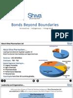 Shiva Corporate Presentation Q32016