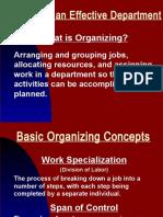 OB 29 IO_06 Organizing an Effective Department