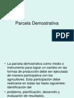 18 Octubre 2016Parcela Demostrativa