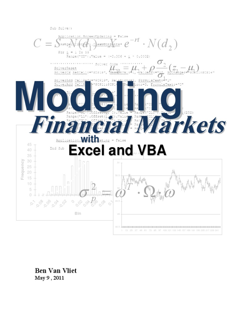 93325838 Financial Modeling With Excel and VBA | Microsoft Excel ...