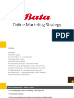Bata Online Marketing Strategy