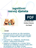 Kognitivni razvoj djeteta