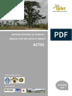 Actes Atelier Gest Fonciere Sen IPAR