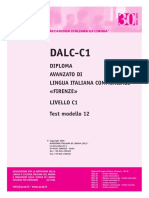AIL DALC-C1 Business Test Modello 12