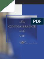 La Connaissance de La Vie, By Witness Lee