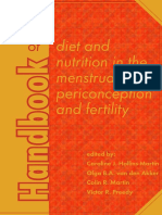 (Human Health Handbooks) Caroline Hollins-Martin, Olga Van Den Akker, Colin Martin, Victor R. Preedy-Handbook of Diet and Nutrition in the Menstrual Cycle, Periconception and Fertility-Wageningen Pers