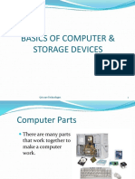 Basics of Computer & Storage Devices
