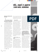 Entrevista - Raul Serrano