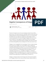 Negative Consequences of Polygamy _ Zainab AL Hammadi _ Pulse _ LinkedIn