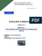 Exploatarea instalatiilor electromecanice navale.doc