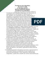 decreto constituyente