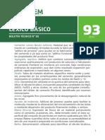 Boletin 93 Cemento Lexico