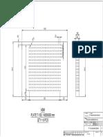 A.machining Plate t100, 1400x900 Abutmen 600 t