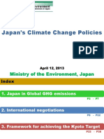 Japan's Climate Change Policies