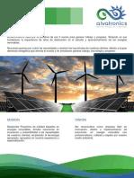 Brochure Alvatronics Para Correo