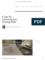 8 Tips for Improving Your Drawing Skills - Alvalyn Creative