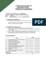 Programa_Física Molecular e Termodinâmica