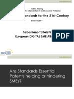 European Standards for the 21st Century