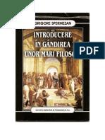 Grigore Spermezan - Introducere în gândirea unor mari filosofi.pdf