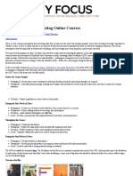 A Checklist for Facilitating Online Courses - Faculty Focus _ Faculty Focus
