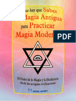 Lo Que Hay Que Saber de Magia Antigua Para Practicar Magia Moderna