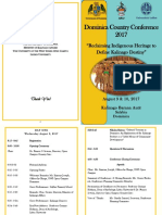 Revised Programme - Dominica Country Conference 2017