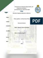 Primer Gobierno de Alan García Pére1