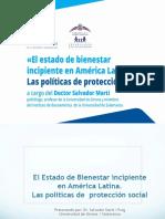 El estado de bienestar incipiente en América Latina. Las políticas de protección social.