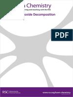 Hydrogen peroxide decomposition.pdf