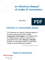 Infection and Modes of Transmission