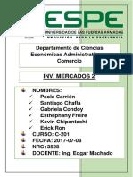 Empresa Confiteca Informe