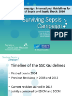 Surviving Sepsis Campaign 2016 Guidelines Presentation Final Revisied