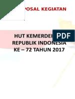 Proposal Hut Ri 72 (2017)