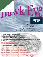 Hawk Eye Power Point Presentation
