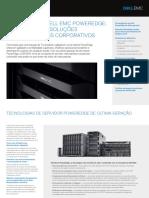 Dell PowerEdge Server Portfolio Brochure Portuguese BR