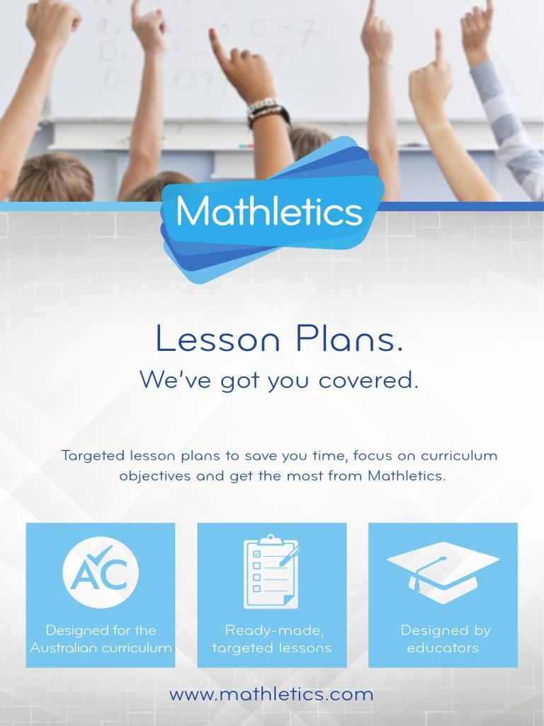 AUS LessonPlans Year ALL Mathletics | Educational Assessment ...