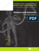 Humans and Automata a Social Study of Robotics Riccardo Campa