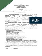 Cerere TIP - Avizare-Autorizare
