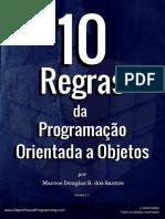 10 Regras de Programação Orientada a Objetos