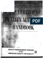 ASQ- The Certified Quality Manager Handbook With Supplemental Section Asq.pdf