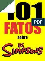 101 Fatos Sobre Os Simpsons - Jonas Silvestre